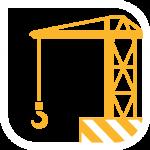 Construcción icono vector