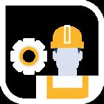Mantenimiento industrial icono