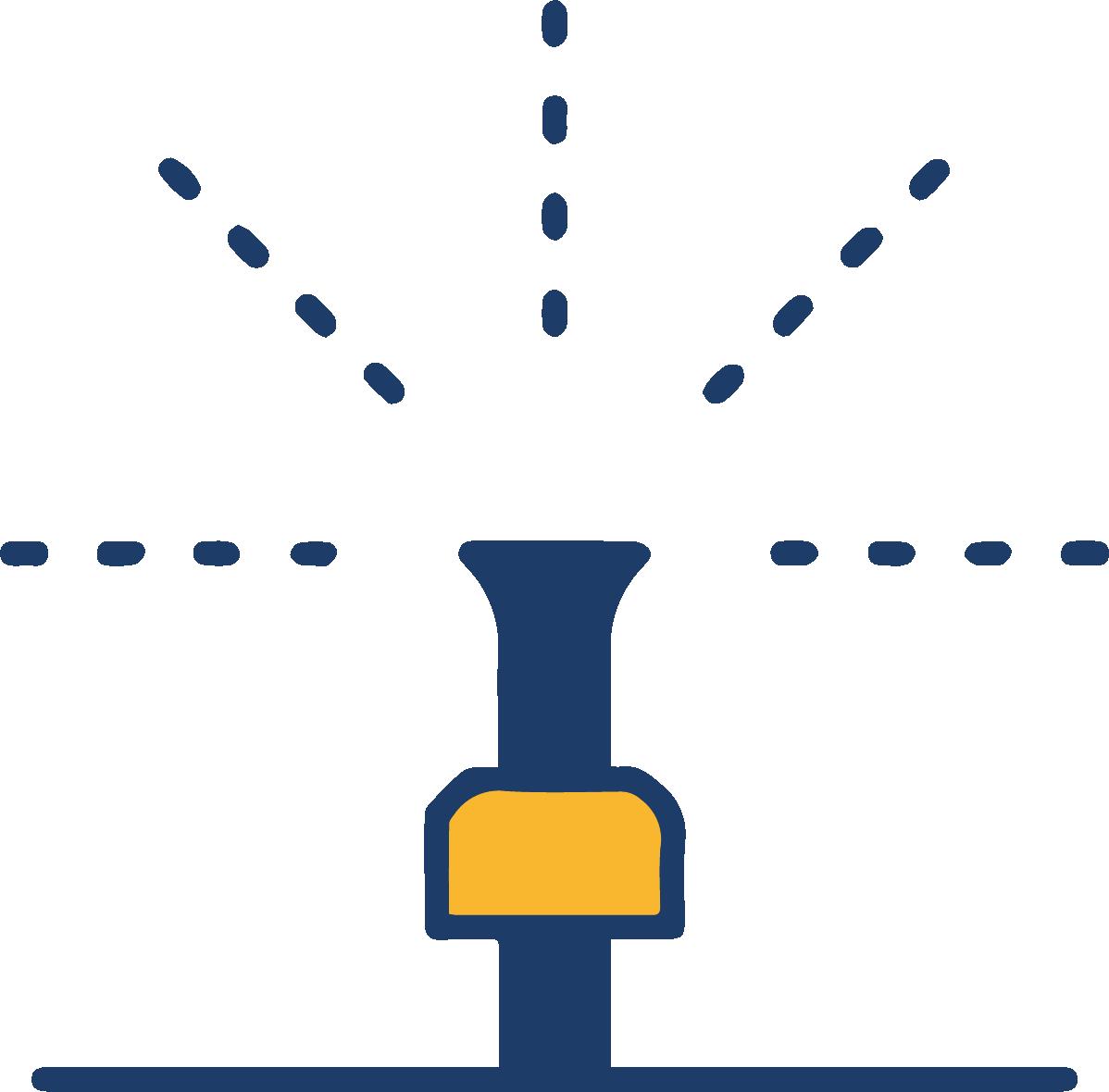 Sistemas de riego icono