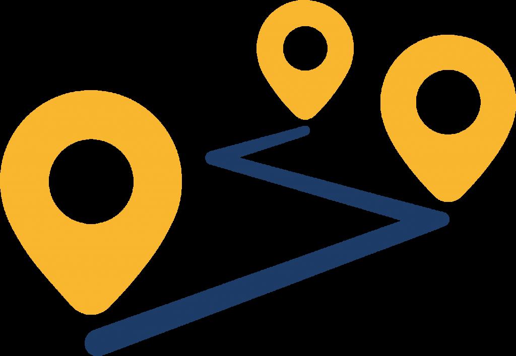 Ruta completa icono
