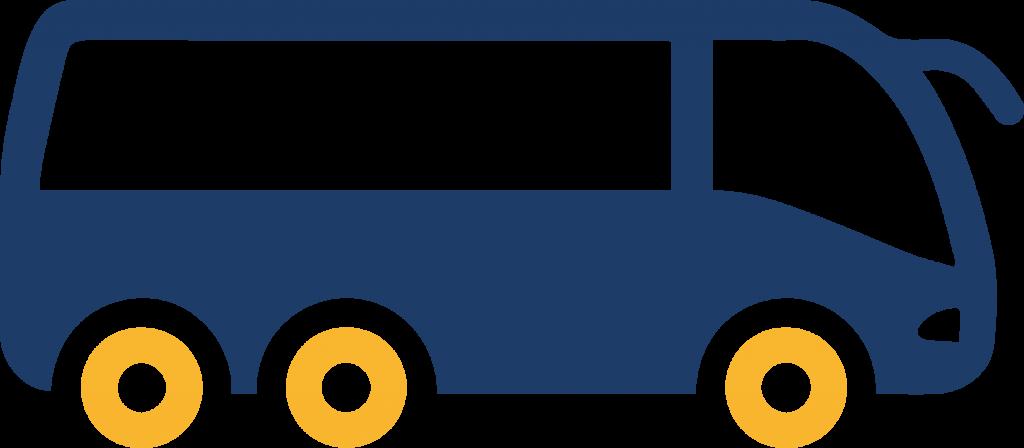 Transporte ejecutivo y turistico icono